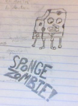 The Sponge-Zombie by Lambchop444