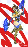 Mortal Kombat X - Kitana (Quick) by ib-jables