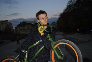 My Bike and me by Sidyk