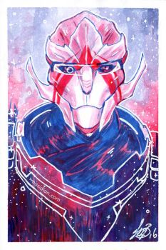 ME: Vetra by Weissidian