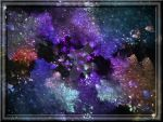 Beautiful Fractal Background In 3d Glass by whoami911
