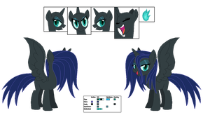 Turquoise Flame Reference Sheet by FinalSmashPony