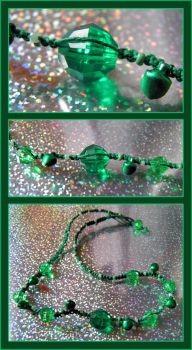 Green Jamboree Choker by Jenna-Rose