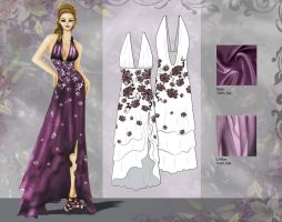 Flora Inspired Dress by love-anya