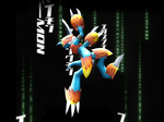 MMD Newcomer Flamedramon + DL by Valforwing