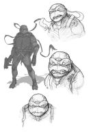 Raph BW by Teratophile