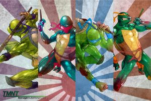 TMNT Poster by Deputee