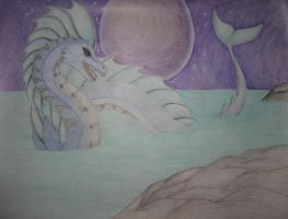 Creature of the seas. by CaffeinatedSketches
