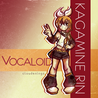 Rin Kagamine by cloudenings