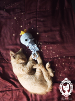 princess jelly fish catch a cat by fayettedream