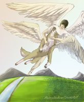 two Angels. by Alphaattack800