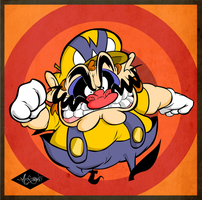 Monsieur Wario by luismario