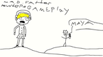 pewdiepie play mad father: by StephanoFennecFox