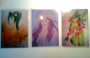 Duality TM Cards: Human Forms by Stephie-Wesson