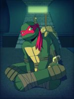 .:TMNT Raph:. by Dawnrie