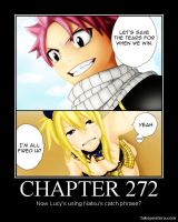 Natsu's Catch Phrase by gjagee