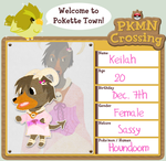 PKMN-Crossing App: Keilah by Mellomeme