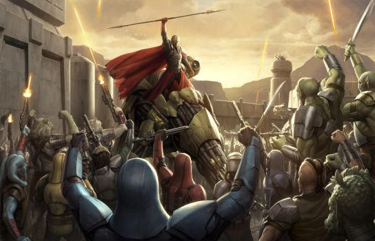 Mandalore The Ultimate by wraithdt