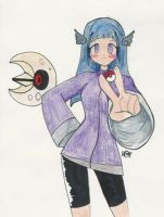 Psychic_water Pokemon trainer by ShadowAlchemy