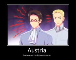 Austria's Rage by animewatcherfreakmal