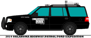 2014 Oklahoma Highway Patrol Ford Expedition by mcspyder1