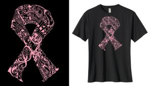 Breast Cancer Awareness Ribbon by DeliaTheArtist