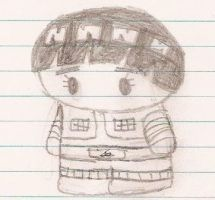 Lee in pencil by puggers