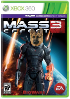 furry mass effect XD by CrusaderZoroark