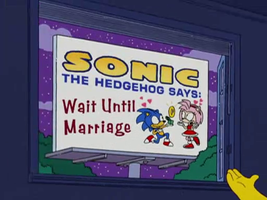 Sonamy On The Simpsons by LiquidYoshiwii1