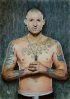 Chester Bennington by ZdenoSuchy