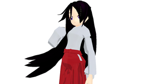 MMD Newcomer - Rei Hino (DL) by Xeno-Fan-Jinusa