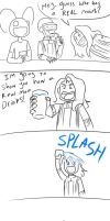 Daft punk. Drinking Problems by Maiden-Chynna