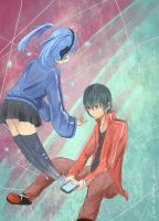 KagePro- Shintaro and Ene by Cool-Kimmy