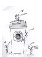 Coffee Victory, Line. by Ressy8D
