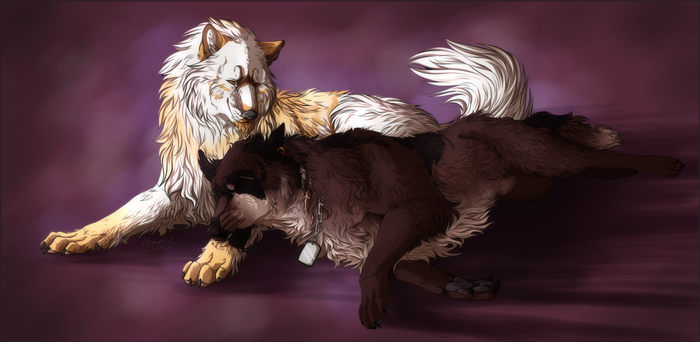 Commission: Ana and Raikka by Mempsis