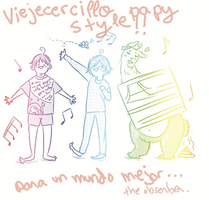 CD REGALO - Viejercirijillo papy style! MUSICAL XD by MomochiInWonderland