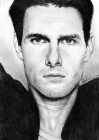 Tom Cruise Drawing by riefra