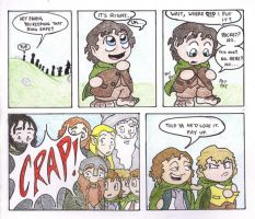 On the way to Mordor... by Aaron-Smiley