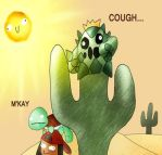 Pokemon Awkward Contest Entry - Cactus Can Cough? by Dark-ink-Factory