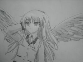 Angel Beats - Kanade Tachibana by jetman117