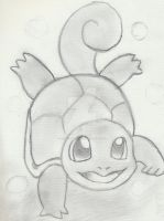 Squirtle by AquaChamander
