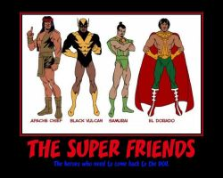 The Super Friends Poster by Shadow-DJ