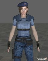 Jill Valentine - S.t.a.r.s by ethaclane