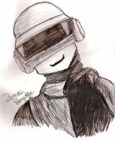 Thomas Bangalter by TurkTang