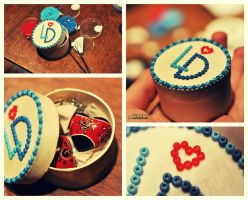 making of: little gift by lisarime