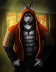Commission: Chris by Brevis--art