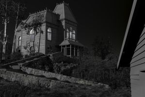 Norman Bates' house by Hansmar
