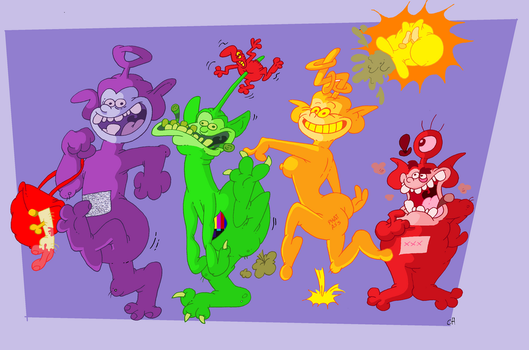 Teletubbies by Chopfe