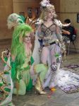 Rydia and Rosa by popecerebus