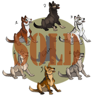 Wolf Pups [Closed] by ResidualAdopts